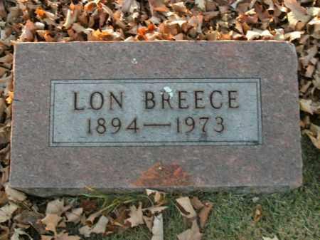 BREECE, LON - Boone County, Arkansas | LON BREECE - Arkansas Gravestone Photos