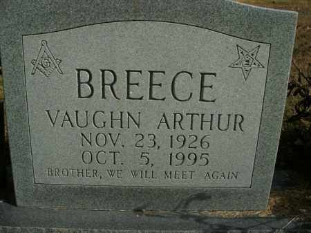 BREECE, VAUGHN ARTHUR - Boone County, Arkansas | VAUGHN ARTHUR BREECE - Arkansas Gravestone Photos