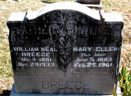 BREECE, MARY ELLEN - Boone County, Arkansas | MARY ELLEN BREECE - Arkansas Gravestone Photos