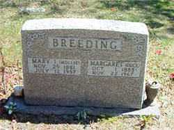 BREEDING, MARY I - Boone County, Arkansas | MARY I BREEDING - Arkansas Gravestone Photos