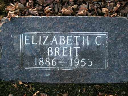 BREIT, ELIZABETH C. - Boone County, Arkansas | ELIZABETH C. BREIT - Arkansas Gravestone Photos