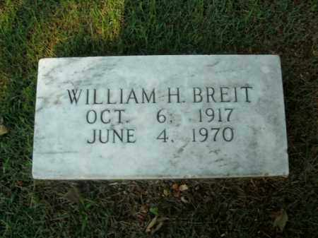 BREIT, WILLIAM H. - Boone County, Arkansas | WILLIAM H. BREIT - Arkansas Gravestone Photos
