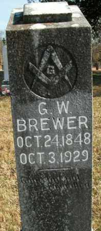 BREWER, G.W. - Boone County, Arkansas | G.W. BREWER - Arkansas Gravestone Photos