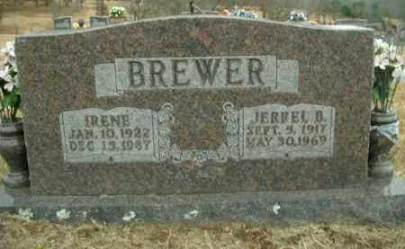 BREWER, ETHEL IRENE - Boone County, Arkansas | ETHEL IRENE BREWER - Arkansas Gravestone Photos
