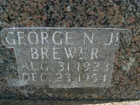 BREWER, JR, GEORGE N. - Boone County, Arkansas | GEORGE N. BREWER, JR - Arkansas Gravestone Photos