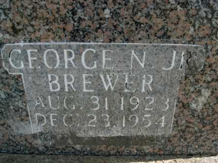 BREWER, JR, GEORGE N. - Boone County, Arkansas | GEORGE N. BREWER, JR - Arkansas Gravestone Photos