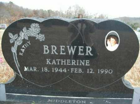 BREWER, KATHERINE - Boone County, Arkansas | KATHERINE BREWER - Arkansas Gravestone Photos