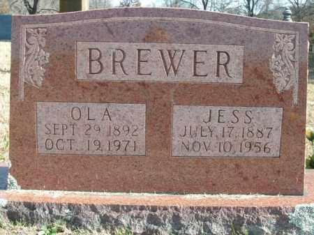BREWER, OLA - Boone County, Arkansas | OLA BREWER - Arkansas Gravestone Photos