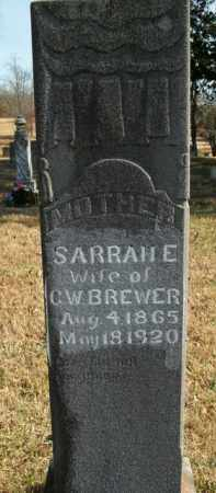 BREWER, SARRAH E. - Boone County, Arkansas | SARRAH E. BREWER - Arkansas Gravestone Photos