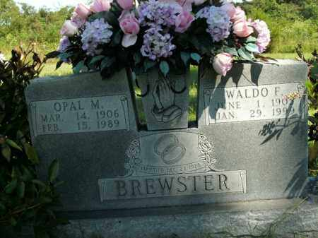 BREWSTER, WALDO F. - Boone County, Arkansas | WALDO F. BREWSTER - Arkansas Gravestone Photos