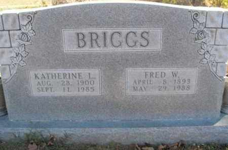 BRIGGS, FRED WALTER - Boone County, Arkansas | FRED WALTER BRIGGS - Arkansas Gravestone Photos