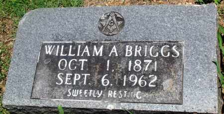 BRIGGS, WILLIAM A - Boone County, Arkansas | WILLIAM A BRIGGS - Arkansas Gravestone Photos