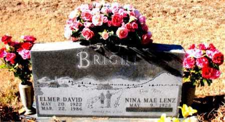 BRIGHT, ELMER DAVID - Boone County, Arkansas | ELMER DAVID BRIGHT - Arkansas Gravestone Photos