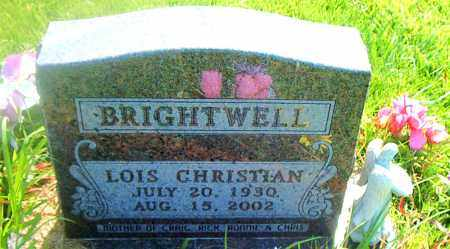 BRIGHTWELL, LOIS CHRISTIAN - Boone County, Arkansas | LOIS CHRISTIAN BRIGHTWELL - Arkansas Gravestone Photos