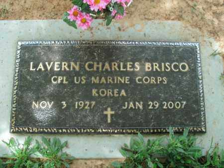 BRISCO  (VETERAN KOR), LAVERN CHARLES - Boone County, Arkansas | LAVERN CHARLES BRISCO  (VETERAN KOR) - Arkansas Gravestone Photos