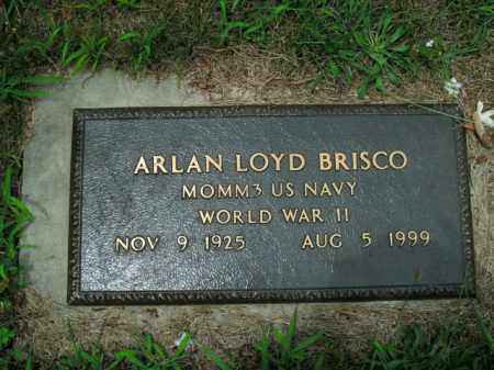 BRISCO  (VETERAN WWII), ARLAN LOYD - Boone County, Arkansas | ARLAN LOYD BRISCO  (VETERAN WWII) - Arkansas Gravestone Photos