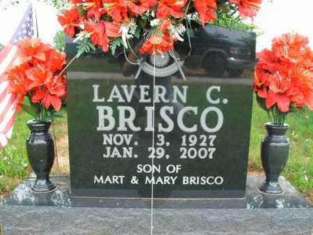BRISCO, LAVERN CHARLES - Boone County, Arkansas | LAVERN CHARLES BRISCO - Arkansas Gravestone Photos