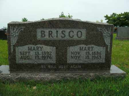 "BRISCO, G M ""MART"" - Boone County, Arkansas 