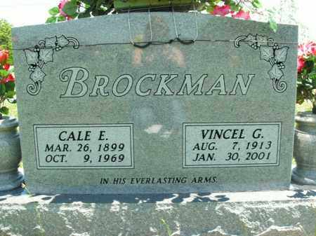 BROCKMAN, VINCEL G. - Boone County, Arkansas | VINCEL G. BROCKMAN - Arkansas Gravestone Photos
