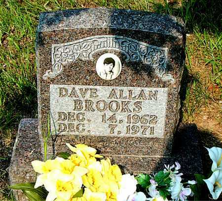 BROOKS, DAVE ALLAN - Boone County, Arkansas | DAVE ALLAN BROOKS - Arkansas Gravestone Photos