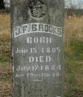BROOKS, J.F. - Boone County, Arkansas | J.F. BROOKS - Arkansas Gravestone Photos