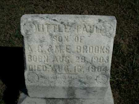BROOKS, PAUL - Boone County, Arkansas | PAUL BROOKS - Arkansas Gravestone Photos