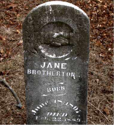 BROTHERTON, JANE - Boone County, Arkansas | JANE BROTHERTON - Arkansas Gravestone Photos