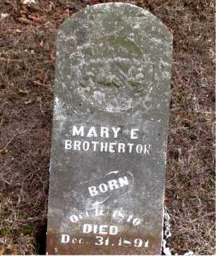 BROTHERTON, MARY E. - Boone County, Arkansas | MARY E. BROTHERTON - Arkansas Gravestone Photos