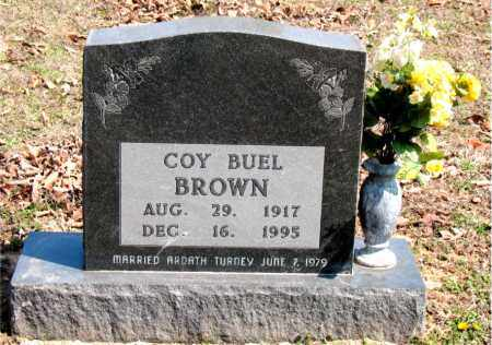 BROWN, COY  BUEL - Boone County, Arkansas | COY  BUEL BROWN - Arkansas Gravestone Photos