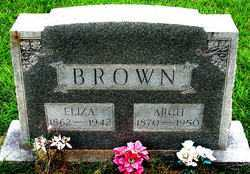 BROWN, ELIZA - Boone County, Arkansas | ELIZA BROWN - Arkansas Gravestone Photos