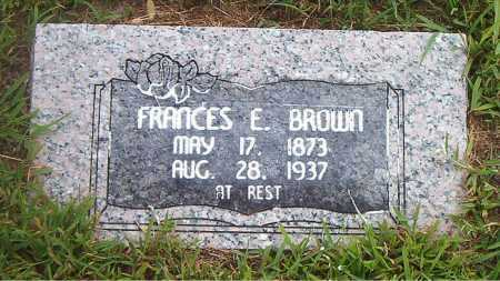 BROWN, FRANCES E. - Boone County, Arkansas | FRANCES E. BROWN - Arkansas Gravestone Photos