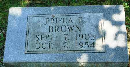BROWN, FRIEDA E - Boone County, Arkansas | FRIEDA E BROWN - Arkansas Gravestone Photos