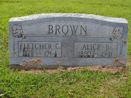 BROWN, FLETCHER C. - Boone County, Arkansas | FLETCHER C. BROWN - Arkansas Gravestone Photos