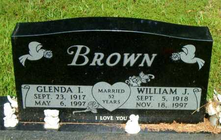 BROWN, GLENDA I - Boone County, Arkansas | GLENDA I BROWN - Arkansas Gravestone Photos