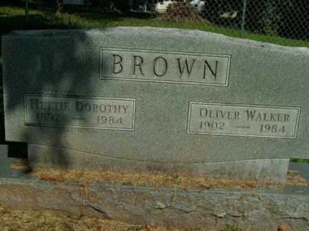 BROWN, OLIVER WALKER - Boone County, Arkansas | OLIVER WALKER BROWN - Arkansas Gravestone Photos