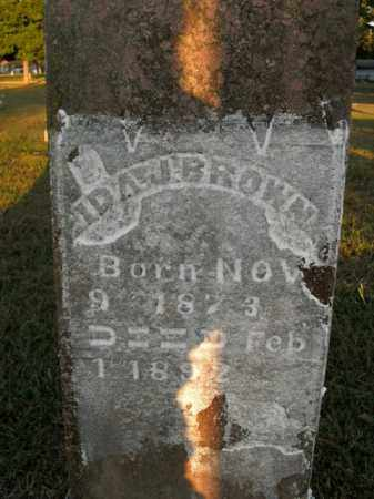 BROWN, IDA J. - Boone County, Arkansas | IDA J. BROWN - Arkansas Gravestone Photos
