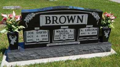 BROWN, JOE DAVID - Boone County, Arkansas | JOE DAVID BROWN - Arkansas Gravestone Photos