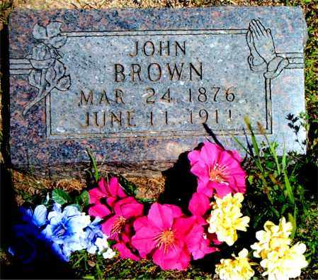BROWN, JOHN - Boone County, Arkansas | JOHN BROWN - Arkansas Gravestone Photos