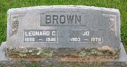 BROWN, JO - Boone County, Arkansas | JO BROWN - Arkansas Gravestone Photos