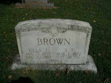 BROWN, SOLOMON THOMAS - Boone County, Arkansas | SOLOMON THOMAS BROWN - Arkansas Gravestone Photos