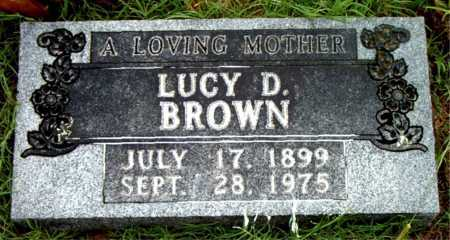 BROWN, LUCY D - Boone County, Arkansas | LUCY D BROWN - Arkansas Gravestone Photos