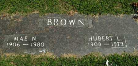 BROWN, HUBERT LEE - Boone County, Arkansas | HUBERT LEE BROWN - Arkansas Gravestone Photos