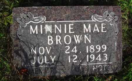 BROWN, MINNIE MAE - Boone County, Arkansas | MINNIE MAE BROWN - Arkansas Gravestone Photos