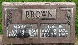 BROWN, JOE W - Boone County, Arkansas | JOE W BROWN - Arkansas Gravestone Photos