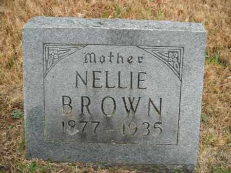 SLAPE BROWN, NANCY NELLIE - Boone County, Arkansas | NANCY NELLIE SLAPE BROWN - Arkansas Gravestone Photos