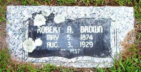 BROWN, ROBERT A - Boone County, Arkansas | ROBERT A BROWN - Arkansas Gravestone Photos