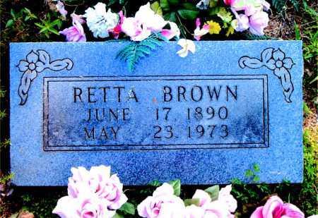BROWN, RETTA - Boone County, Arkansas | RETTA BROWN - Arkansas Gravestone Photos