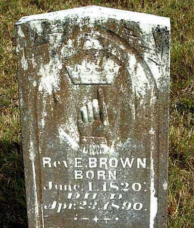BROWN, E. - Boone County, Arkansas | E. BROWN - Arkansas Gravestone Photos