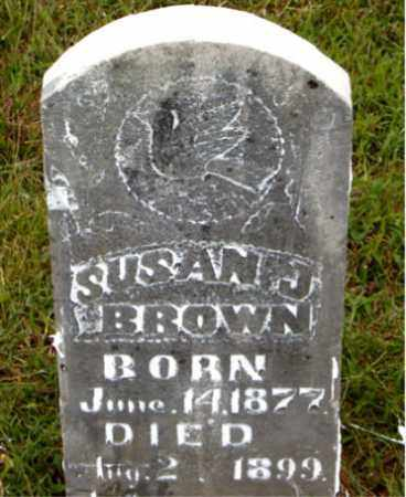 BROWN, SUSAN J. - Boone County, Arkansas | SUSAN J. BROWN - Arkansas Gravestone Photos