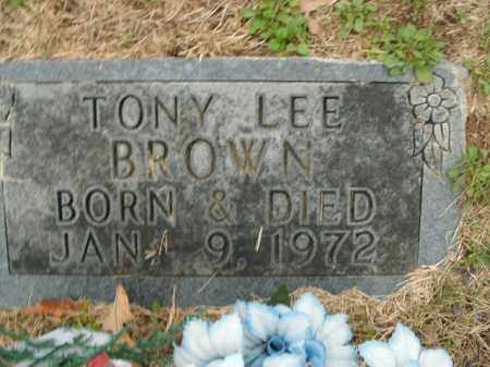 BROWN, TONY LEE - Boone County, Arkansas | TONY LEE BROWN - Arkansas Gravestone Photos